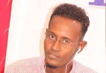 Journalist Hussein Abdulle Mohamed.