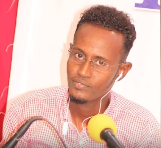 Journalist Hussein Abdulle Mohamed.