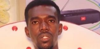 Somali human rights defender, journalist and editor for Radio Hiigsi, Mohamed Abduwahab (Abuuja) has been arbitrarily detained and by Somali authorities since March 7, 2020.   Photo/SJS.